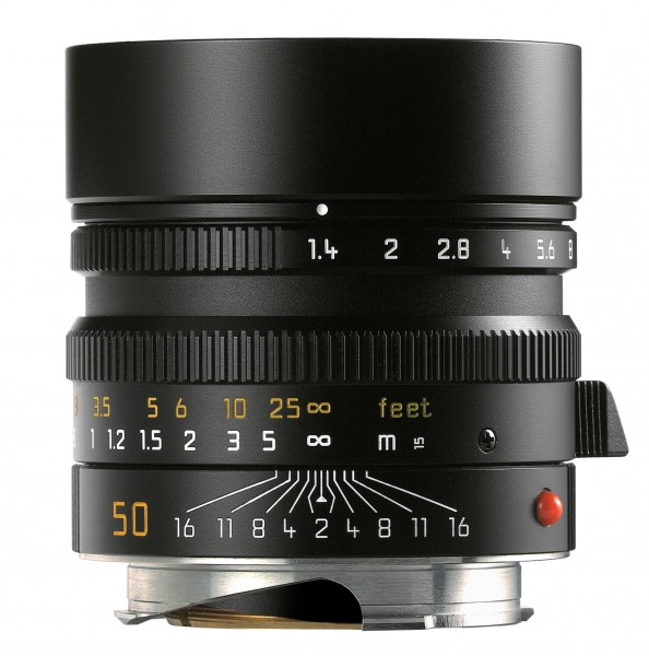 Leica 50mm/1.4 Summilux-M schwarz