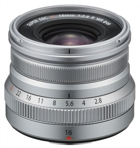 Fujifilm XF16mm F2.8 R WR silber