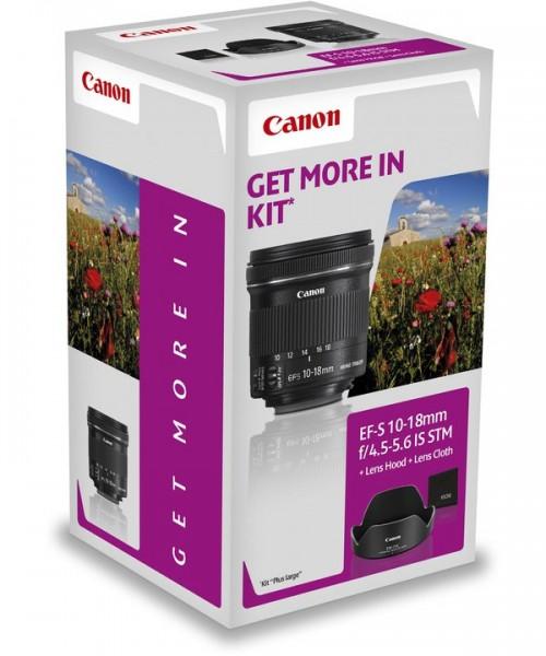 Canon EF-S 10-18 STM + EW-73C