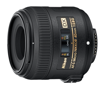 Nikon AF-S 40mm F/2.8 G Micro DX