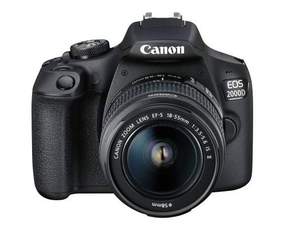Canon EOS 2000D + 18-55 IS II