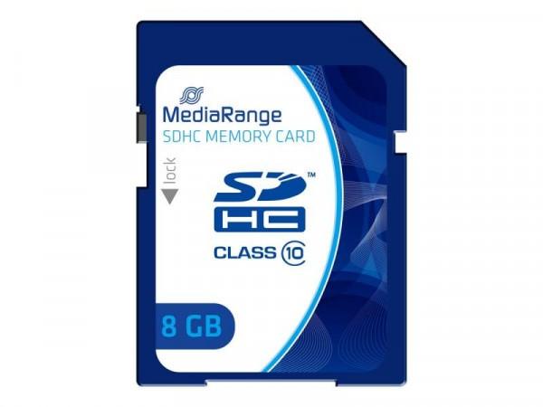 Mediarange SD 8GB Class10