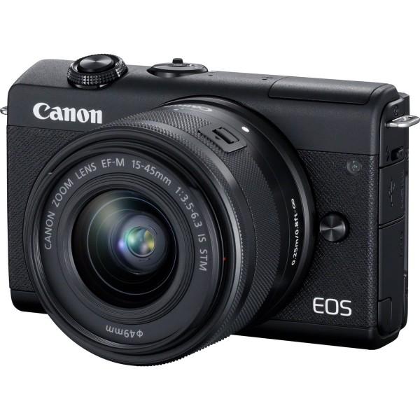 Canon EOS M200+15-45 schwarz