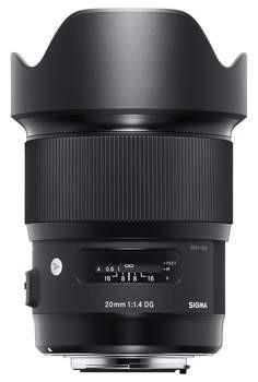 Sigma 20mm F/1,4 DG Art Nikon