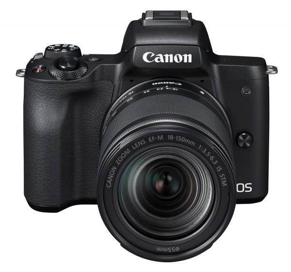 Canon EOS M50 + 18-150mm schwarz