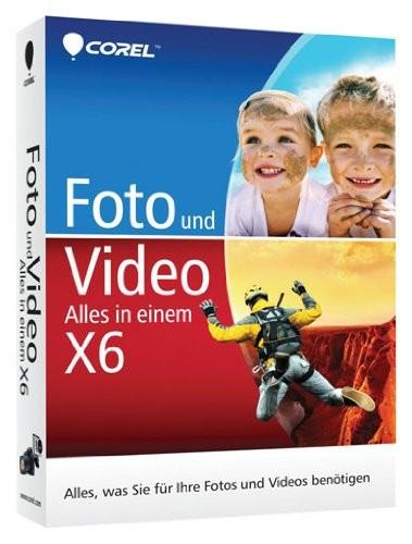 Corel Foto und Video Alles in einem X6