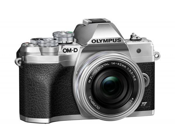 Olympus E-M10 IV silber + 14-42 EZ