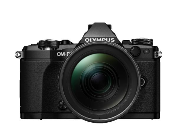 Olympus E-M5 Mark II schwarz + 12‑40mm F/2.8 PRO