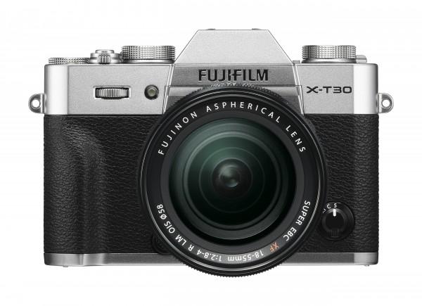Fujifilm X-T30 silber + XF18-55mm F2.8-4 R LM OIS