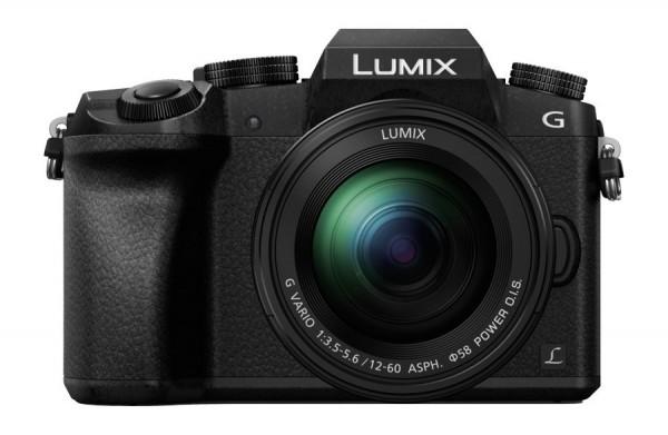Panasonic LUMIX G70 schwarz + 12-60mm
