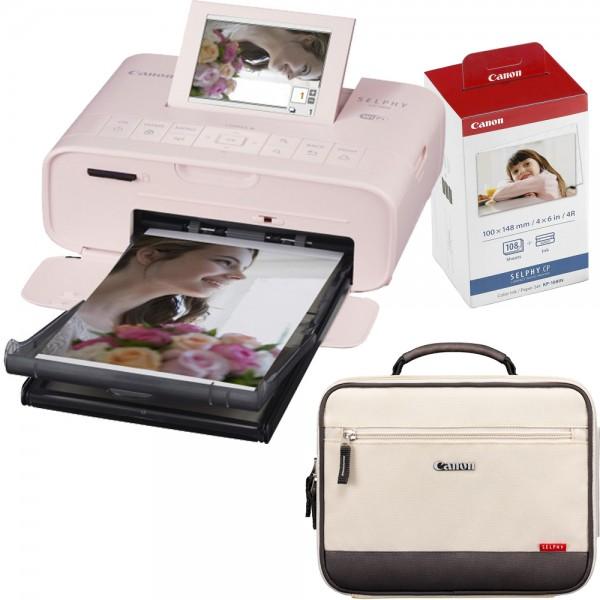 Canon CP1300 pink/rosa + 108 Blatt/Folie + Tasche