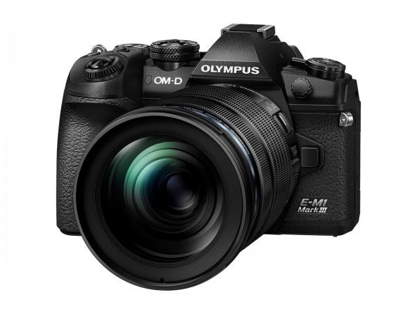 Olympus OMD E-M1 III + 12-100/4 schwarz - Jetzt 200,- sparen!