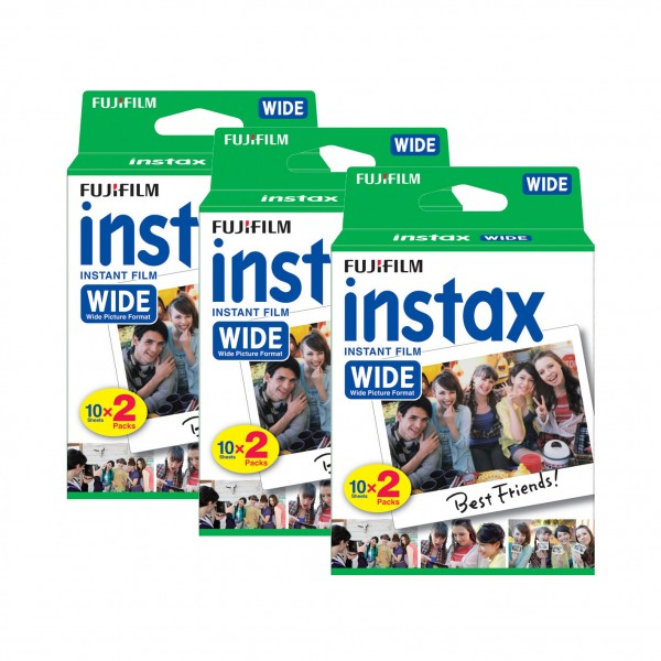Instax Wide Film Doppelpack 3er-Pack