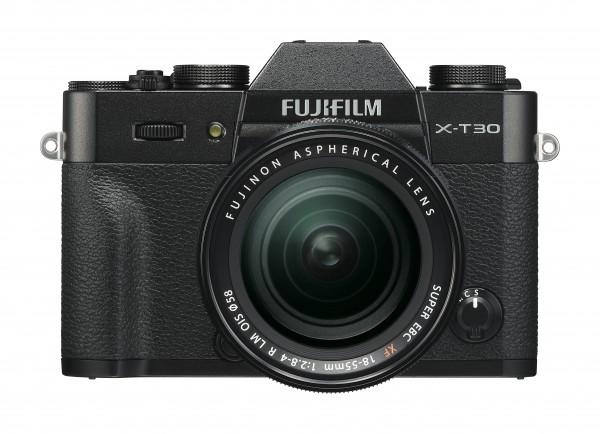 Fujifilm X-T30 schwarz + XF18-55mm F2.8-4 R LM OIS Jetzt 100,- Cashback sichern!