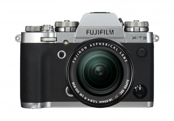 Fujifilm X-T3 silber + XF18-55mm F2.8-4 R LM OIS - Jetzt 200,- sichern!