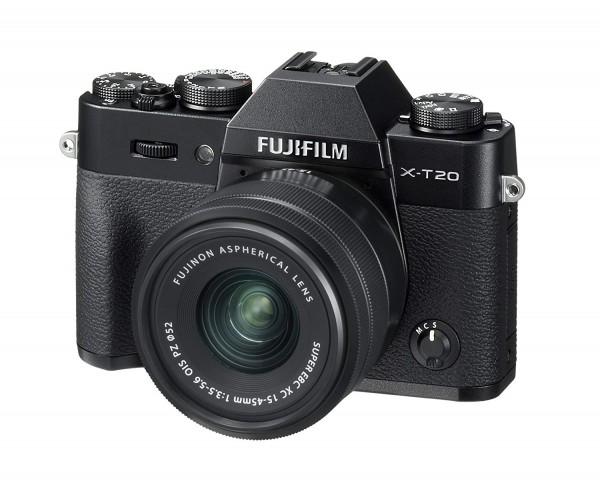 Fujifilm X-T20 schwarz + XC 15-45 - Jetzt 200,- Sofortrabatt sichern!