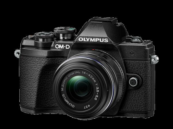 Olympus E-M10 Mark III schwarz +14-42mm II R + 40-150mm