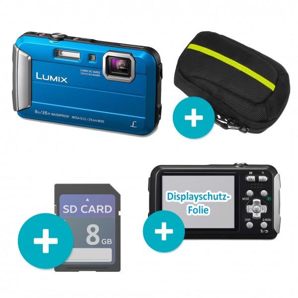 Panasonic FT-30 Blau Set SD Tasche Folie