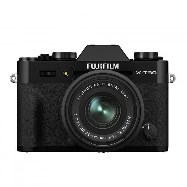 FUJIFILM X-T30 II black + XC15-45mm Kit