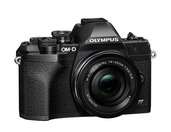 Olympus E-M10 IV schwarz + 14-42 EZ - Jetzt 75,- sparen!