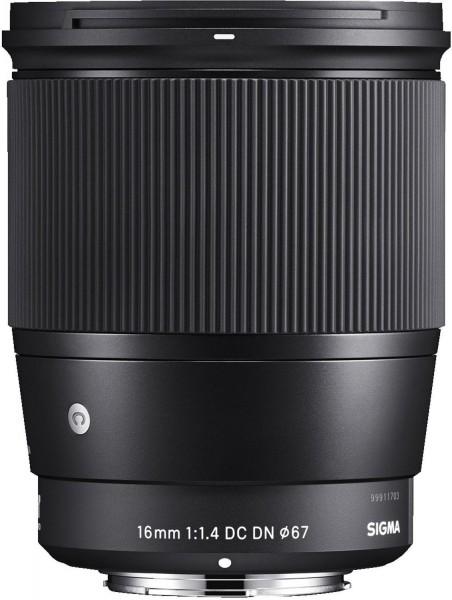 Sigma 16mm F/1,4 DC DN Contemporary Canon EF-M