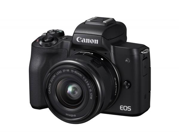 Canon EOS M50 + 15-45mm schwarz