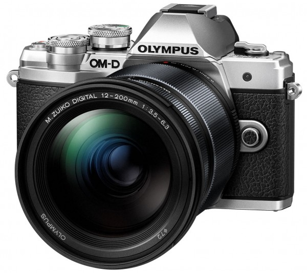 Olympus E-M10 III+12-200 silber