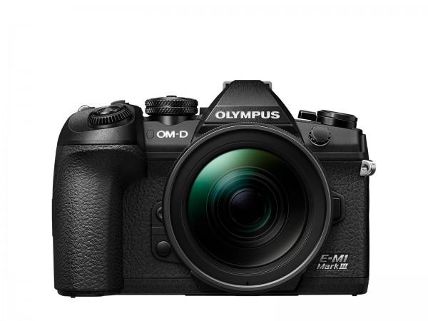 Olympus OMD E-M1 III + 12-40/2,8 schwarz