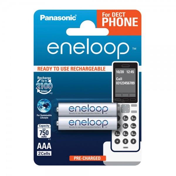 Panasonic Eneloop AAA 750 2er