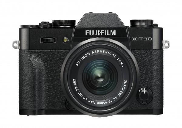 Fujifilm X-T30 schwarz + XC15-45mm F3.5-5.6 OIS PZ