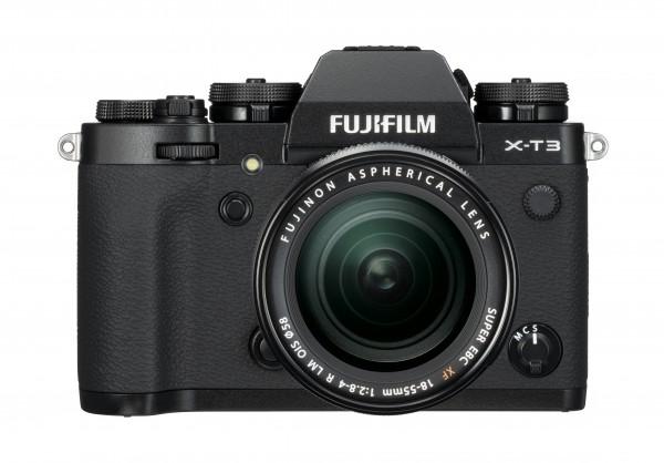 Fujifilm X-T3 schwarz + XF18-55mm F2.8-4 R LM OIS - Jetzt 200,- Cashback sichern!