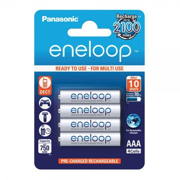 Panasonic Eneloop AAA 750 4er