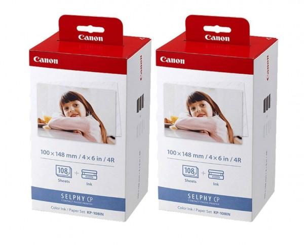Canon KP-108 IP Papier 2er Pack