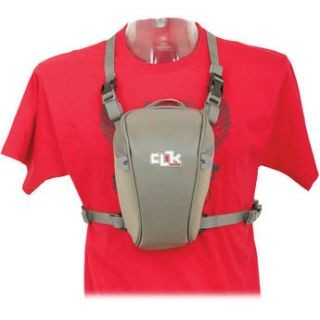 ClikElite Standard SLR Chest Carrier Gray