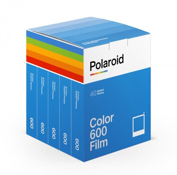 Polaroid 600 Color 5er Pack