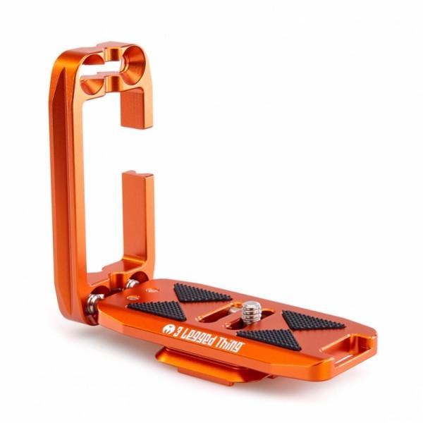 3 Legged Thing ELLIE Copper universeller Schnellwechselwinkel kompatibel mit Peak Design Capture Cli