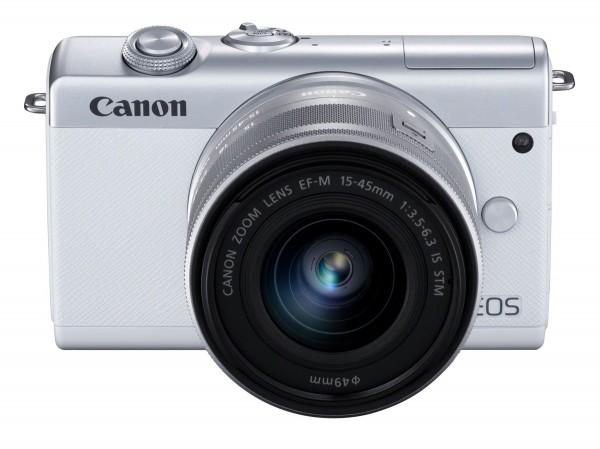 Canon EOS M200+15-45 weiß