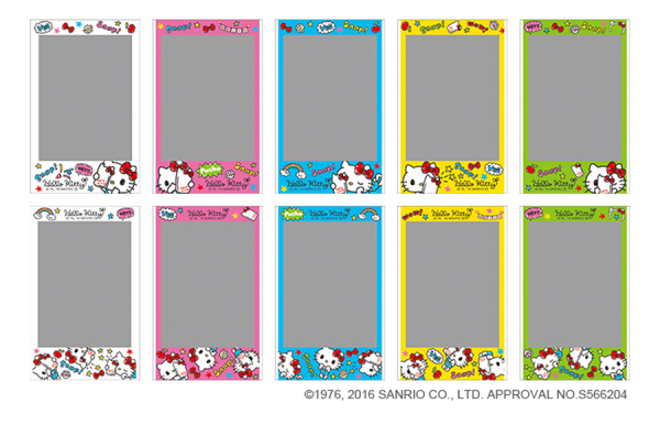 INSTAX MINI FILM HELLO KITTY