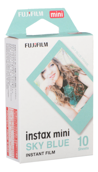 INSTAX MINI FILM BLUE FRAME