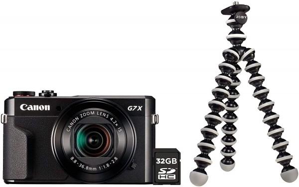 Canon G7X Mark II Vlogging Kit inkl. Joby+32GB