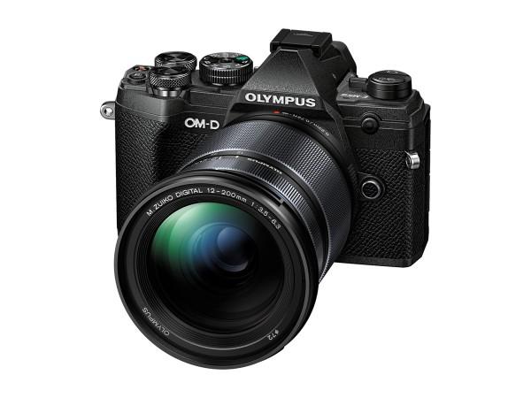 Olympus E-M5 Mark III schwarz 12-200mm F/4 schwarz Kit