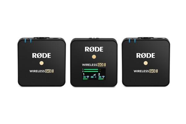 Rode Wireless GO IIdigitales 2-Kanal drahtlos Mikrofonsystem