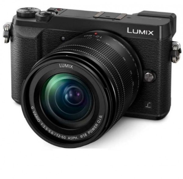 Panasonic LUMIX GX80 schwarz + 12-60mm