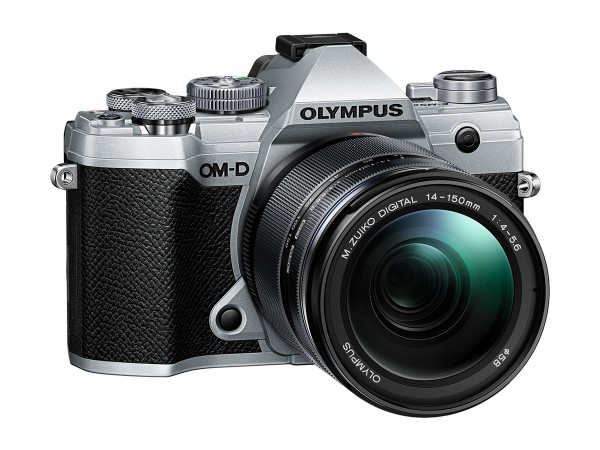 Olympus E-M5 Mark III silber 14-150mm schwarz Kit