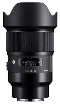 Sigma 20mm F1,4 DG Art Sony E