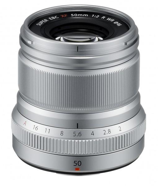 Fujifilm XF50 F2 R WR silber