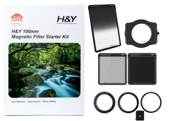 H&Y Magnetic Starter Set 100mm Steckfiltersystem