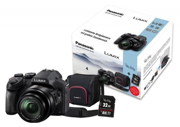 Panasonic LUMIX FZ330 + 32GB + Tasche
