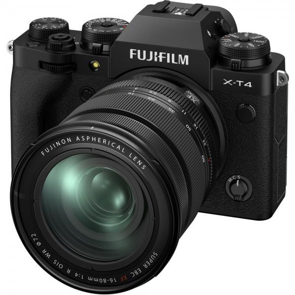 Fujifilm X-T4 Body schwarz + XF 16-80/4 - Jetzt 200,- sparen!