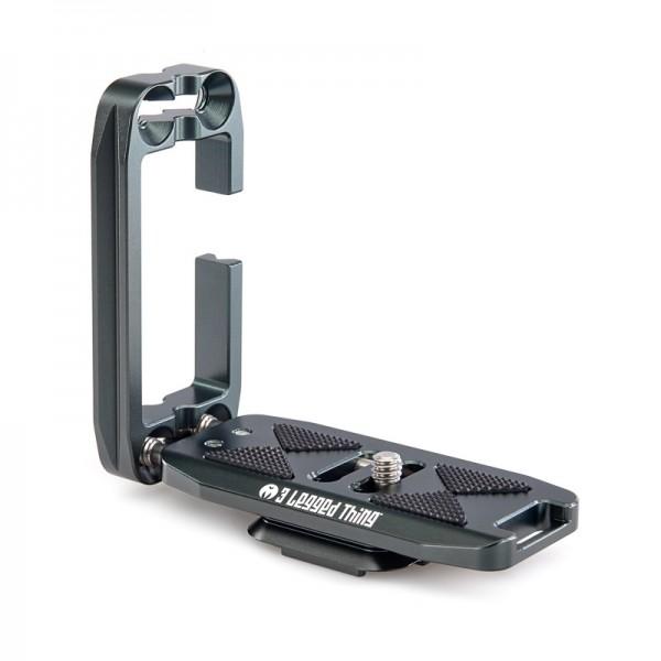 3 Legged Thing ELLIE Grey universeller Schnellwechselwinkel kompatibel mit Peak Design Capture Clip
